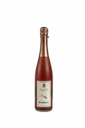 BoSecco Rosé Dt. Perlwein mit zugesetzter Kohlensäure